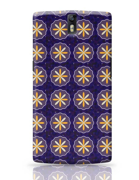 Floral pattern OnePlus One Covers Cases Online India