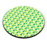Green triangles and diamonds Fridge Magnet Online India