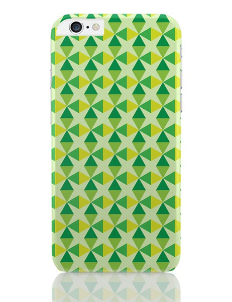 Green triangles and diamonds iPhone 6 Plus / 6S Plus Covers Cases Online India
