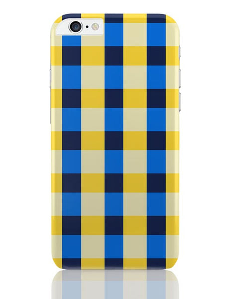 Dark blue square tile pattern iPhone 6 Plus / 6S Plus Covers Cases Online India