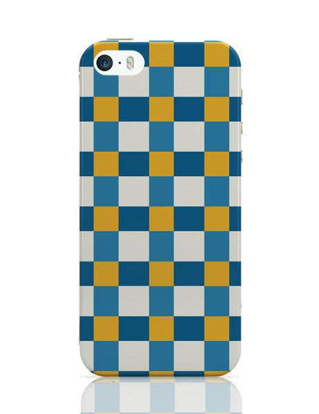 Blue square tile pattern iPhone Covers Cases Online India