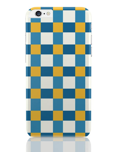 Blue square tile pattern iPhone 6 Plus / 6S Plus Covers Cases Online India