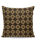 Golden floral vector Cushion Cover Online India