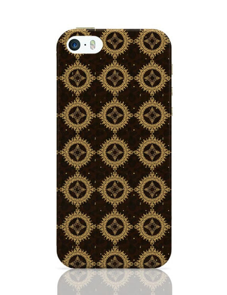 Golden floral vector iPhone Covers Cases Online India