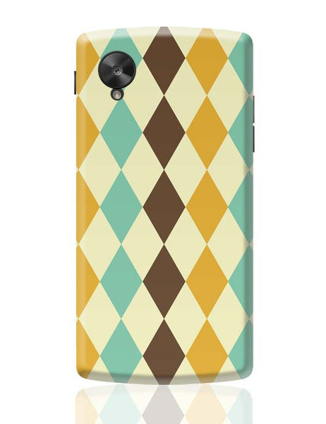 Colorful vintage triangle Google Nexus 5 Covers Cases Online India