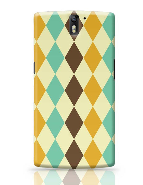 Colorful vintage triangle OnePlus One Covers Cases Online India