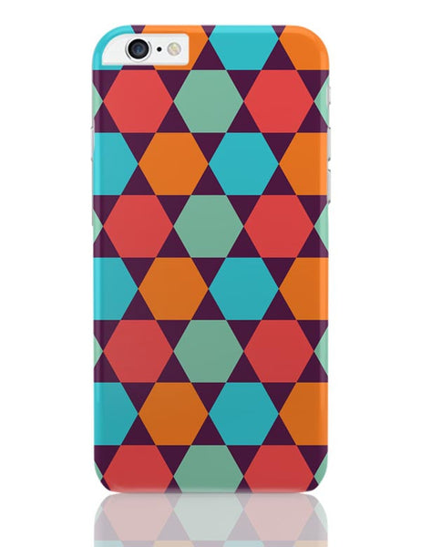 Hexagonal shapes pattern iPhone 6 Plus / 6S Plus Covers Cases Online India