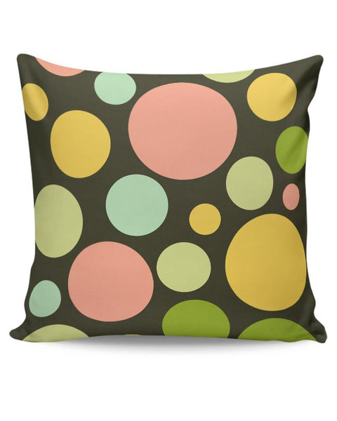 Circle bubble colors Cushion Cover Online India