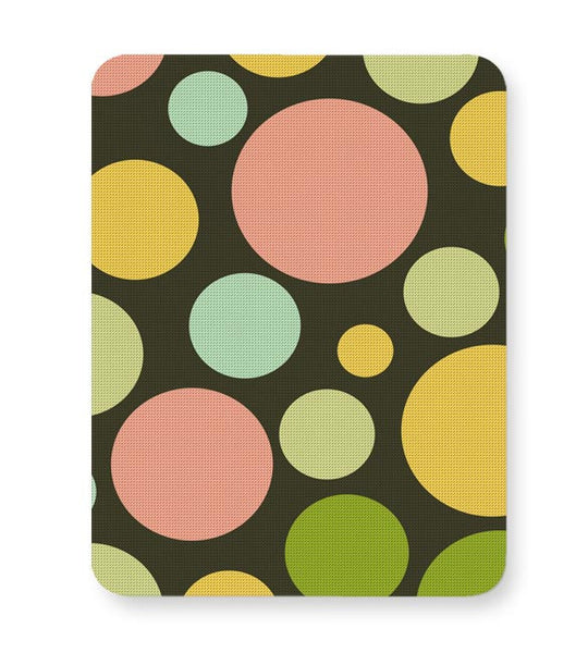 Circle bubble colors Mousepad Online India