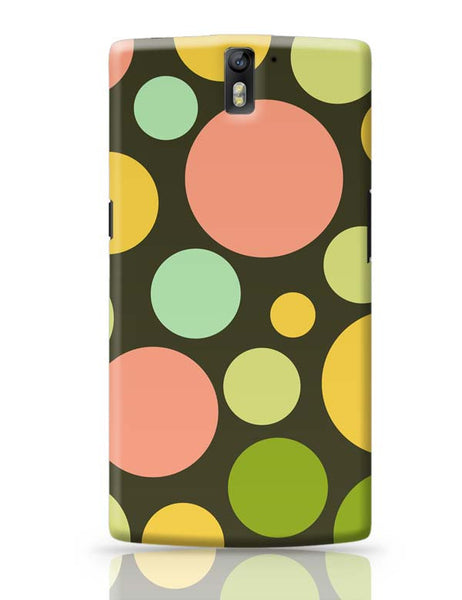 Circle bubble colors OnePlus One Covers Cases Online India