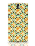 Abstract vintage circle pattern OnePlus One Covers Cases Online India