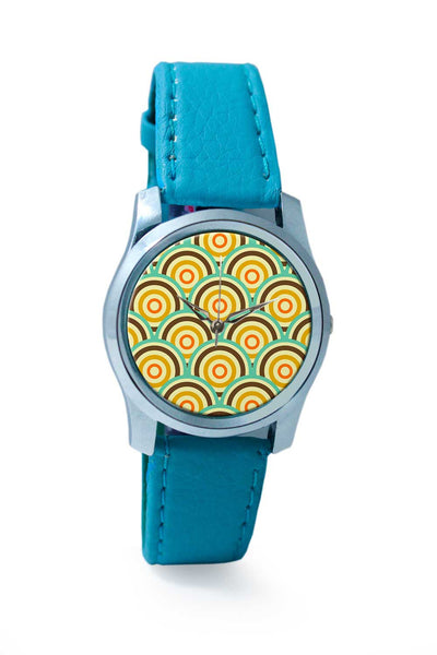 Women Wrist Watch India | Vintage abstract colors circle Wrist Watch Online India