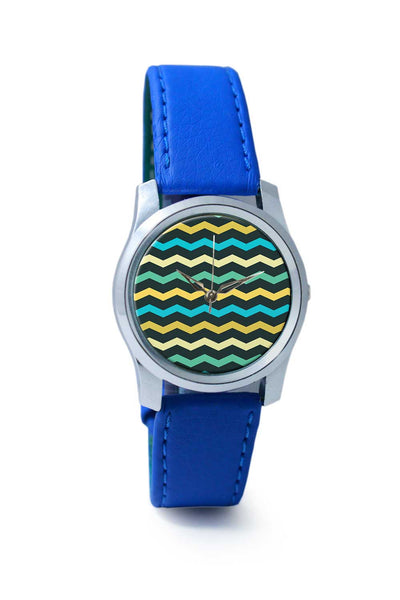 Women Wrist Watch India | Zig zag pattern Wrist Watch Online India
