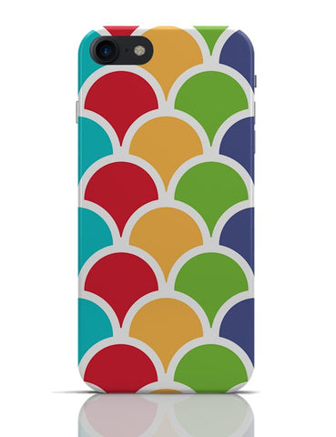Multicolors seamless circle pattern iPhone 7 Covers Cases Online India
