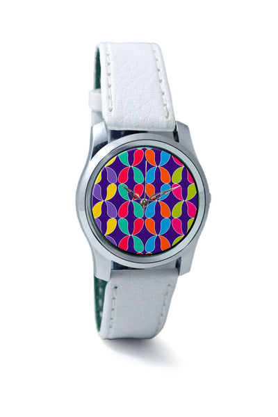 Women Wrist Watch India | Shape colors abstract pattern Wrist Watch Online India