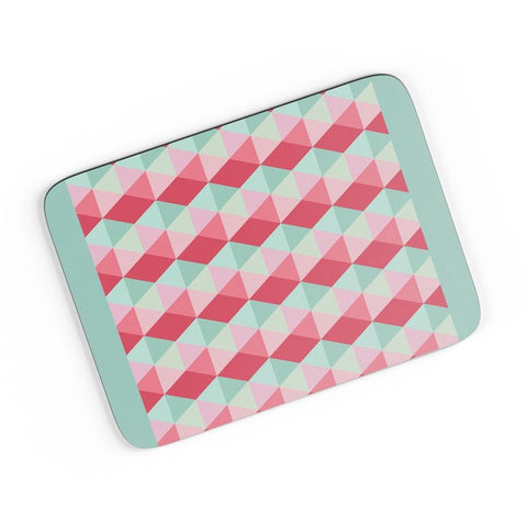 3d cube geometric pattern A4 Mousepad Online India