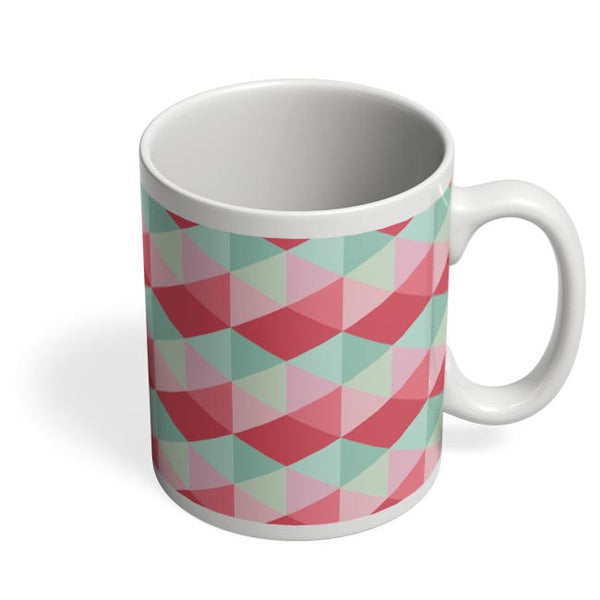 3d cube geometric pattern Coffee Mug Online India