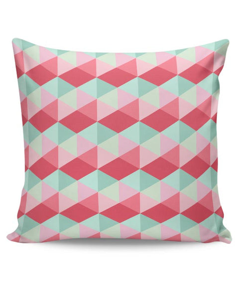 3d cube geometric pattern Cushion Cover Online India