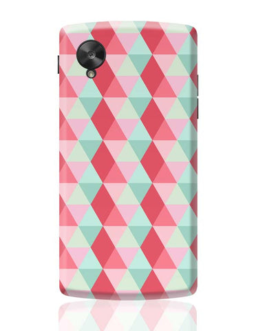 3d cube geometric pattern Google Nexus 5 Covers Cases Online India