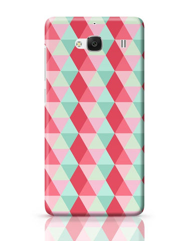 3d cube geometric pattern Redmi 2 / Redmi 2 Prime Covers Cases Online India