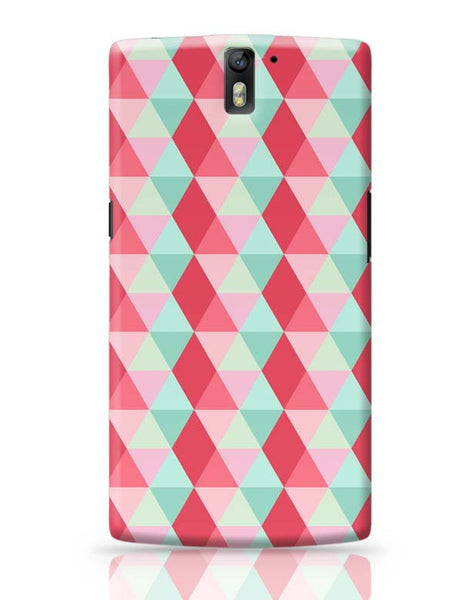 3d cube geometric pattern OnePlus One Covers Cases Online India