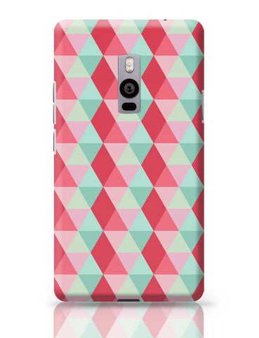 3d cube geometric pattern OnePlus Two Covers Cases Online India
