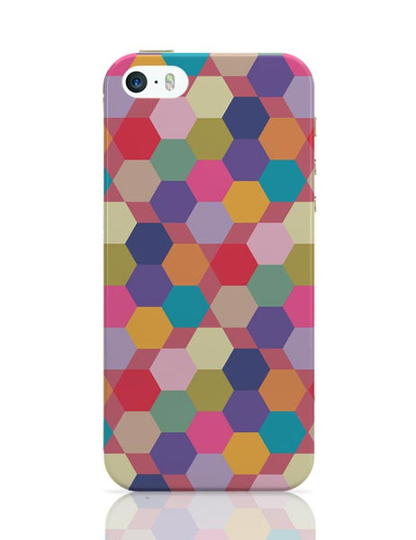 Colorful hex pattern iPhone Covers Cases Online India