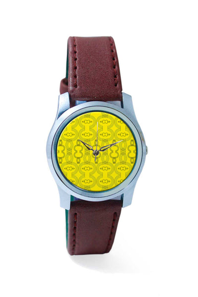 Women Wrist Watch India | Stroke art pattern Wrist Watch Online India
