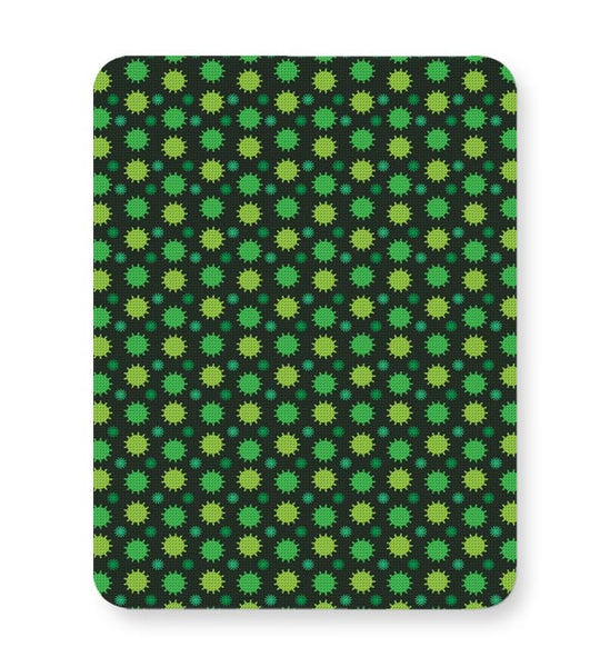 Floral green pattern Mousepad Online India