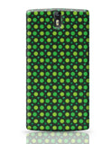 Floral green pattern OnePlus One Covers Cases Online India