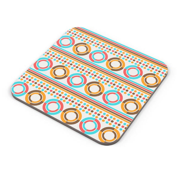 African geometric textile pattern Coaster Online India