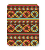 African pattern with geometric shapes Mousepad Online India