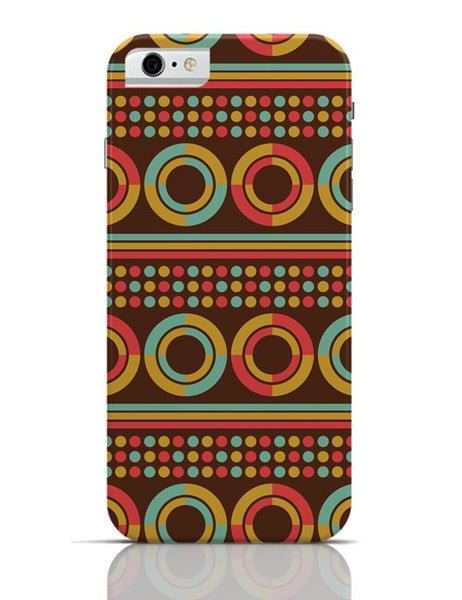 African pattern with geometric shapes iPhone 6 6S Covers Cases Online India