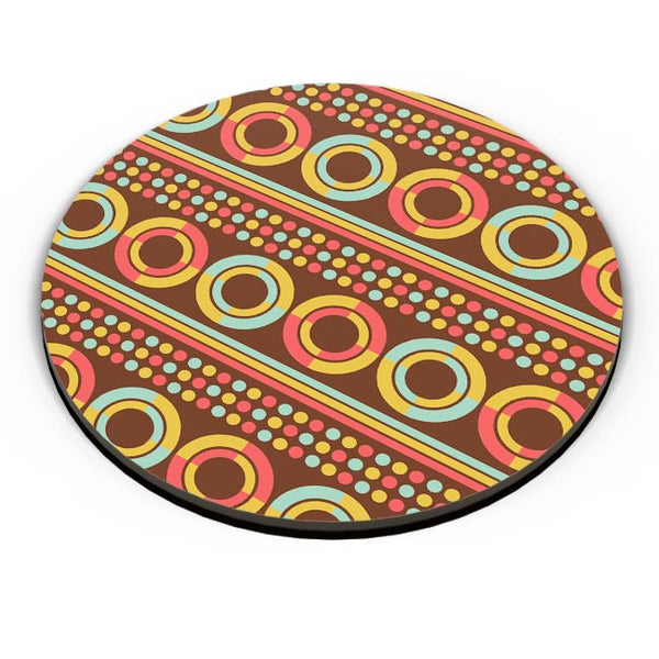 African pattern with geometric shapes Fridge Magnet Online India
