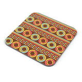 African pattern with geometric shapes Coaster Online India
