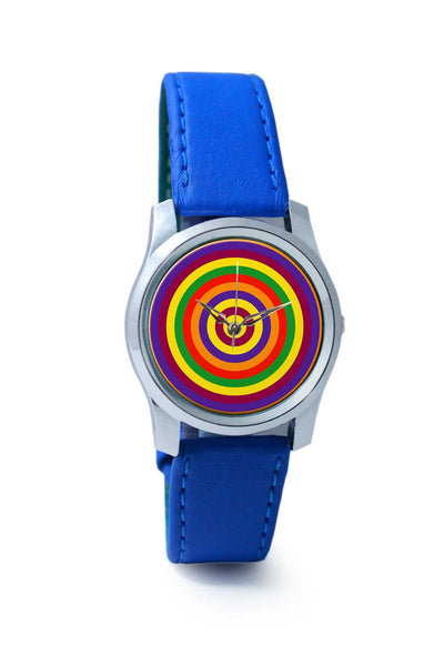 Women Wrist Watch India | Rainbow circle Wrist Watch Online India