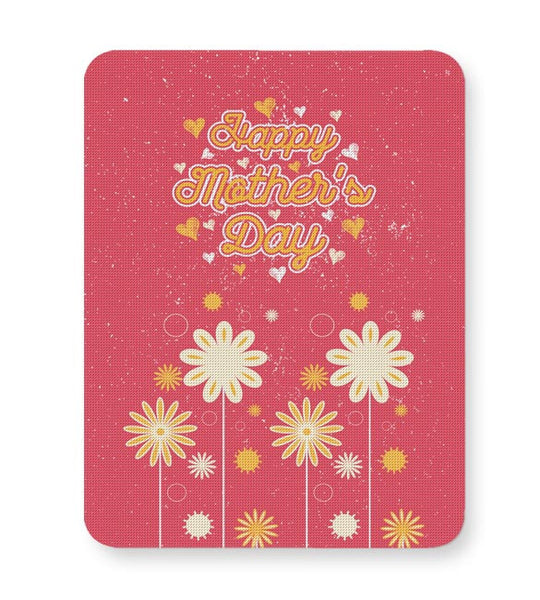 Happy mother s day floral greeting Mousepad Online India