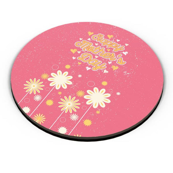 Happy mother s day floral greeting Fridge Magnet Online India