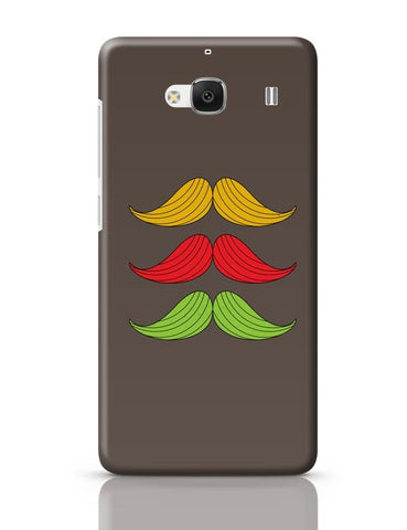 3 Moustache Colorful Redmi 2 / Redmi 2 Prime Covers Cases Online India