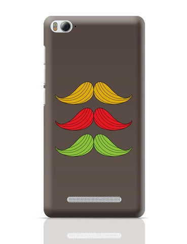 3 Moustache Colorful Xiaomi Mi 4i Covers Cases Online India