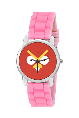 Kids Wrist Watch India | Angry Bird Geometric Kids Wrist Watch Online India
