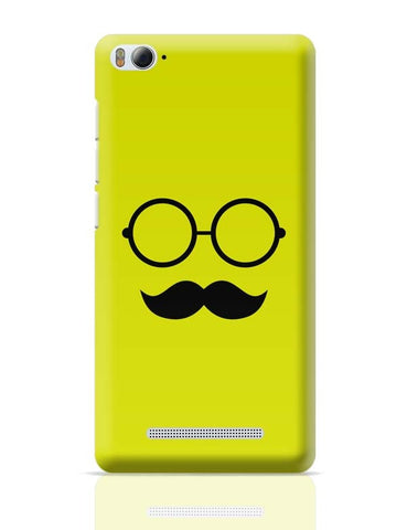 Glasses With Mustache  Xiaomi Mi 4i Covers Cases Online India