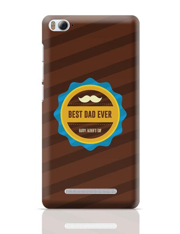 Best Dad Ever With Moustache Xiaomi Mi 4i Covers Cases Online India