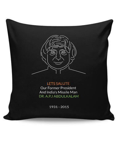 Dr. A.P.J Abdul Kalam Cushion Cover Online India