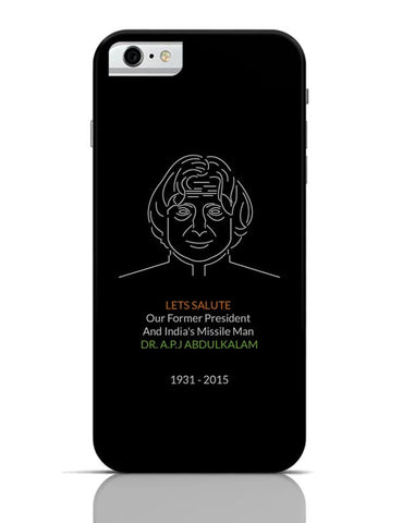 Dr. A.P.J Abdul Kalam iPhone 6 / 6S Covers Cases