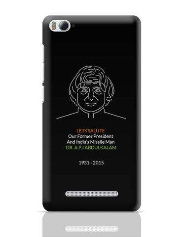 Dr. A.P.J Abdul Kalam Xiaomi Mi 4i Covers Cases Online India