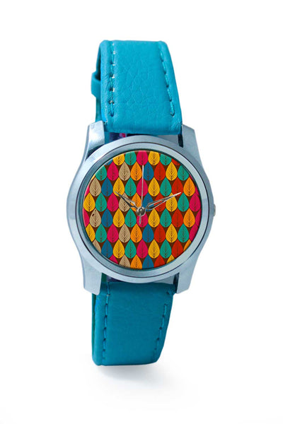 Women Wrist Watch India | Seamless Floral Background Wrist Watch Online India