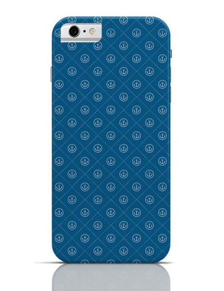 Abstract Anchor on Blue Background iPhone 6 6S Covers Cases Online India