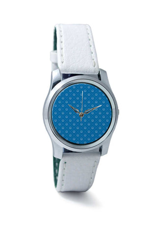 Women Wrist Watch India | Abstract Anchor on Blue Background Wrist Watch Online India
