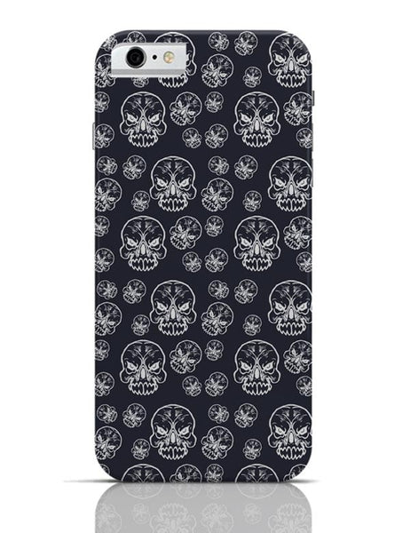Abstract skull background iPhone 6 / 6S Covers Cases